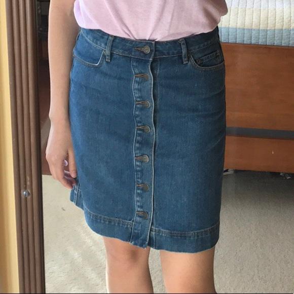 796c345b37 LOFT Skirts | Denim Jean Skirt | Poshmark